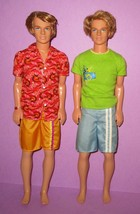 Barbie Ken Fashion Fever Boy Era Rooted Hair Surf Up Beach Glam Retired ... - $24.00