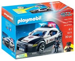 PLAYMOBIL Police Cruiser Kids Boys Toys Gift Christmas Birthday NEW - $49.61
