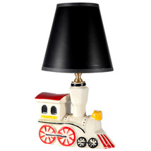 Vintage Train Lamp - Retro Ceramic Nursery Light -  All New Wiring &... - $56.10