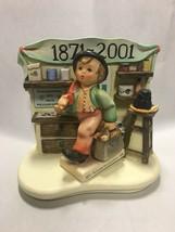 HUMMEL FIGURINE & SCAPE Merry Wanderer 1042-D GENERATIONS 2nd FIRING - $85.00