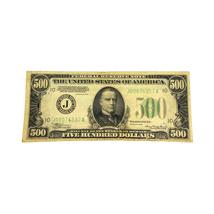 1934 $500 Federal Reserve Note Five hundred  Dollar J - $1,550.00