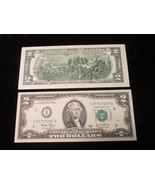 2 C/U BEP Consecutive Lucky 7s $2.00 Minneapolis, MN Federal Reserve Not... - $7.70