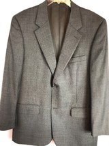 Mens Size 42R Roundtree & Yorke Gold Label Tailored 100% Wool Blazer Cha... - $35.63