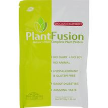 Plantfusion Chocolate Raspberry Packets - Case of 12 - 30 Grams - $37.99