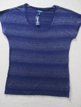 Old Navy Women Top M Navy Stripe Sleeveless 1859 - $10.69