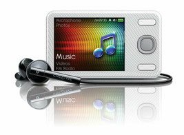 Creative Zen X-Fi Style White 32 Gb Wma Aac MP3 Player Fm Radio Built-In Speaker - $323.89