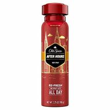 OLD SPICE Red Collection Body Spray After Hours - 3.75 oz (Pack of 1) - $11.81