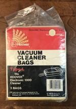 3 Hoover Type L Vacuum Bags  - $12.87
