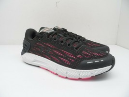 Under Armour Women's Charged Rogue Running Shoe Gray/Black/Pink 7 Wide - $75.99