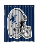 Dallas Cowboys 07 Shower Curtain Waterproof Polyester Fabric For Bathroom  - $33.30+