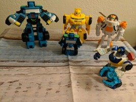 Hasbro Transformers Rescue Bots Figure Lot Of 4  - $28.50