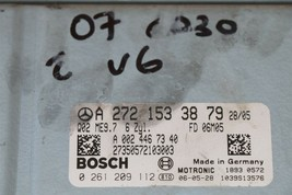 Mercedes Engine Control Unit Module ECU ECM 2721533879, A-272-153-38-79 image 1