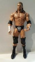 TRIPLE H Action Figure ELITE Wrestling WRESTLEMANIA 2011 WWE Mattel Luch... - $23.27