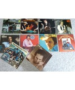 TEN  Merle Haggard Vinyl Record Collection - Used Condition from G to VG - $74.25