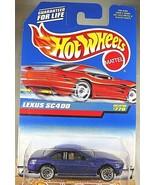 1997 Vintage Hot Wheels Collector #770 LEXUS SC400 Purple w/Chrome Lace ... - $8.50