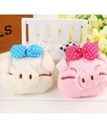 Cute Bowknot Pig 8cm Piggy Plush Toy Pendant Symbol Of 2019 Chinese Zodiac - $6.99