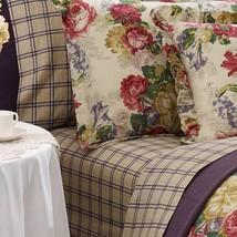 2 Pretty Ralph Lauren SURREY GARDEN Shabby Floral EURO Shams NIP MSRP $3... - $89.99