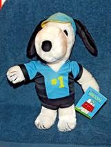 Snoopy Vintage Applause 1965 Bicycle Racing Plush Animal With Tags Peanu... - $69.29