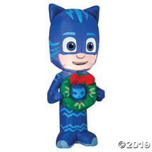 """42"""" Blow Up Inflatable Catboy with Wreath - $67.75"""