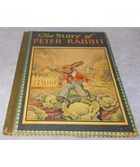 Old Vintage The Story of Peter Rabbit Book HC Ca 1900 Ray Gleason Cover - $19.95