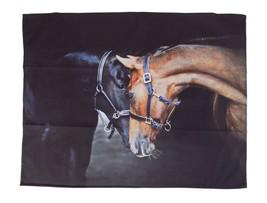 AFFECTIONATE HORSES 100% COTTON KITCHEN TEA TOWEL 55CM X 70CM - $19.55