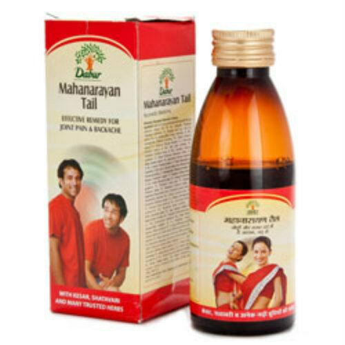 Dabur Mahanarayan Tail Oil For Joint Pain & Backache 100 ml - $9.30