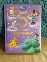 5-Minute Snuggle Stories by Disney Book Group Staff - HARDCOVER - NEW! - $8.50