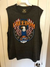 Men's Faded Glory American  Freedom  Sleeveless Tank Shirt XL,  - $9.99