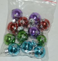 Ganz EX20536 Light Up Christmas Tree 12 Ornaments 6 Inches Glass image 8