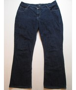 Riders By Lee Women Jeans Size 18 W/P Inseam 28 Mid Rise Bootcut #O1 - $17.99