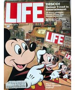 VTG Life Magazine November 1978 Walt Disney Mickey Mouse Disco! Honda adds - $34.65