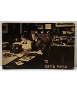 Rapid Work 1919 Typing Office Work New Holland Pa Ephrata Postcard F4 - $9.99