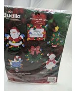 Bucilla Felt Ornaments Snowman with Lights Kit 85117 - $32.95