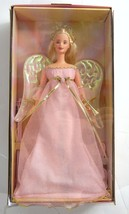 Angelic Harmony Angel Barbie Doll NRFB New Mattel 2001 w/ Trumpet & Crow... - $29.99