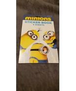MINIONS STICKER BOOK - $5.00