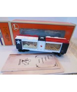 LIONEL LTD PRODUCTION - HOUSTON TINPLATE SOCIETY 2000 MINT CAR - LN- A4 - $161.65