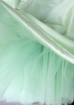 PLUS SIZE Tutu Skirts Adult Mint Green Tulle Skirt Short Adult/Girl Tutus NWT image 2