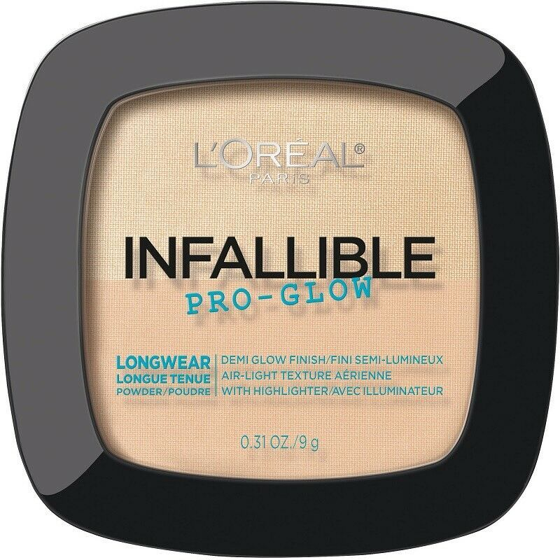 L'Oreal Infallible PRO-GLOW Demi Glow Powder With Highlighter Choose Your Shade - $7.33