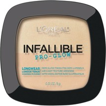 L'Oreal Infallible PRO-GLOW Demi Glow Powder With Highlighter Choose Your Shade - $6.96