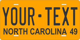 North Carolina 1949 License Plate Personalized Custom Car Bike Motorcycle Moped - $10.99+