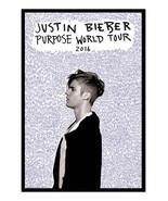 90441 Justin Bieber Purpose Tour Official Decor Wall Print POSTER - $5.06+