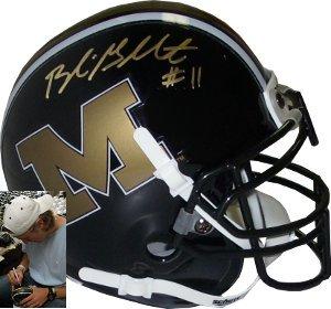 Blaine Gabbert signed Missouri Tigers Authentic Mini Helmet