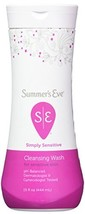 Summer's Eve Cleansing Wash for Sensitive Skin, Simply Sensitive, 15 Ounce Pack