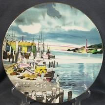 Royal Doulton Ports Of Call Fishermans Wharf San Francisco Collector Pla... - $19.95