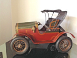 Large Scale Hand Made Ford Model T Torpedo Roadster c1911 Antique Model Car - $245.00