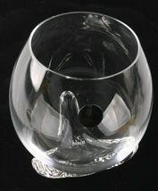 Lot of 2 Alessi Bettina Crystalline White Wine or Water Glasses w PMMA Support image 4