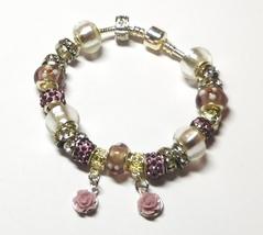 Rose Garden Euro Bracelet by Sandi - $8.00
