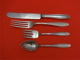 Juliet by Wallace Sterling Silver Regular Size Place Setting(s) 4pc - $195.80