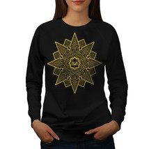 Mandala Star Jumper Meditation Women Sweatshirt - $18.99