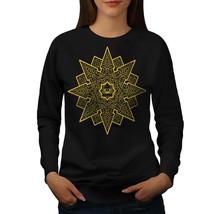 Mandala Star Jumper Meditation Women Sweatshirt - $18.99